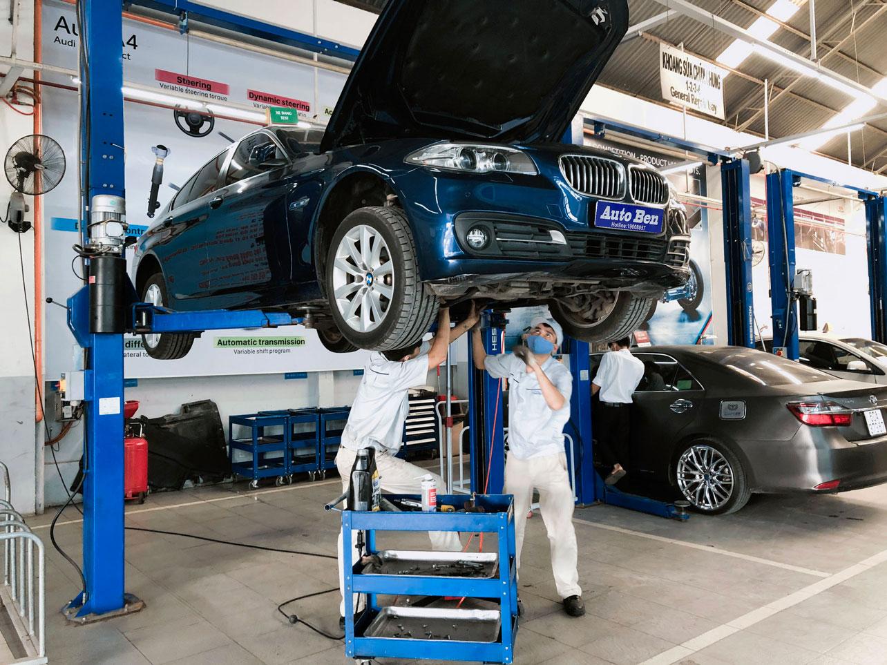 Sửa chữa thước lại xe BMW tại Auto Ben Biên Hòa